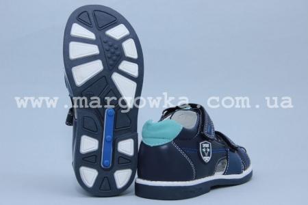 Босоножки Tom.M 3359C для мальчика синие (A)