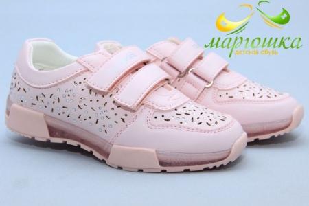 Кроссовки Сказка S527-2 для девочки розовые