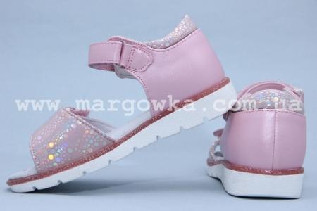 Босоножки BIKI 4049A для девочки розовые (A)