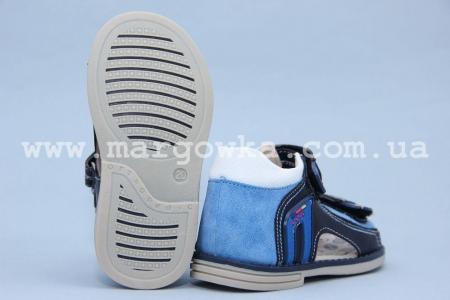 Босоножки Tom.M 1959A для мальчика синие (G)