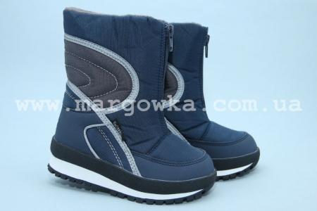Термо-ботинки B&G R161-3194 для мальчика синие