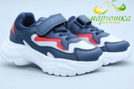 Кроссовки Tom.M 7286E для мальчика синие