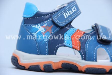 Босоножки BIKI 4084A для мальчика синие (A)