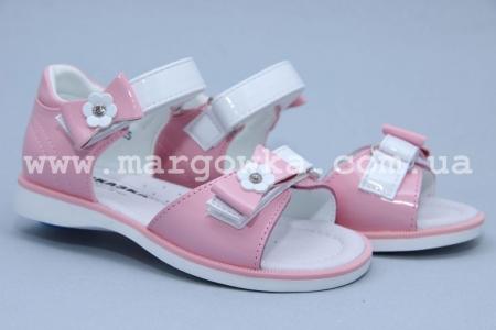 Босоножки Сказка S509-2 для девочки розовые (A)