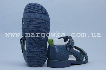 Босоножки Сказка S506-1 для мальчика синие (A)