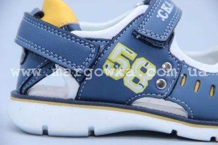 Босоножки Сказка S507 для мальчика синие (A)