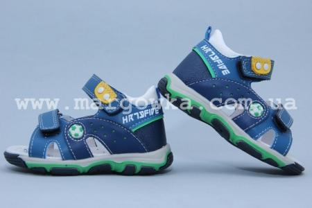Босоножки BIKI 4085A для мальчика синие (G)
