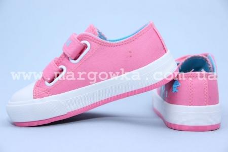 Кеды Tom.M C-T82-12-C для девочки розовые