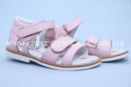 Босоножки Tom.M C-T53-19-D для девочки розовые