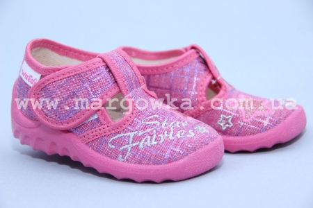 Тапочки Waldi 138-102 для девочки розовые