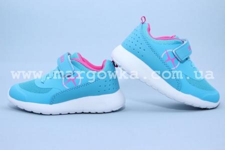 Голубые кроссовки для девочки Axim Польша