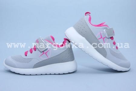 Кроссовки Axim 2A1746DZGREY для девочки серые