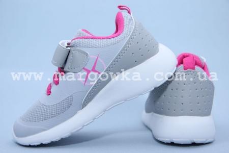 Кроссовки Axim 3A1746DZGREY для девочки серые