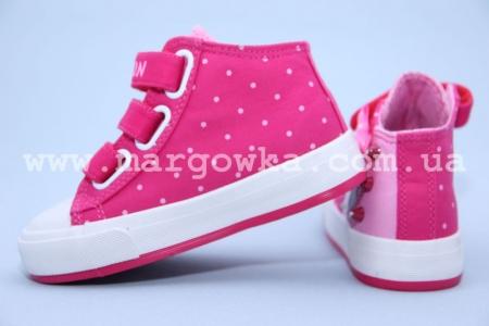 Кеды Tom.M C-T82-14-E для девочки розовые (A)