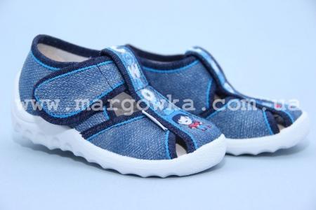 Тапочки Waldi 203-540 для мальчика синие