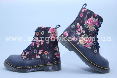 Ботинки Little Deer (B&G) LDV16-254 для девочки синие