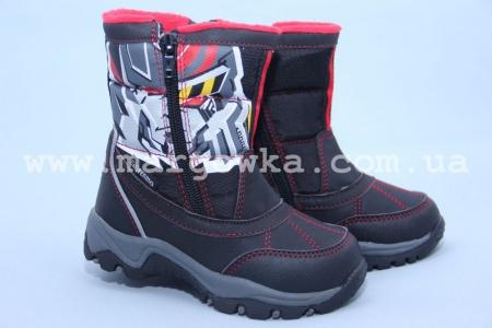 Термо-ботинки B&G TERMO R161-3201 для мальчика черные