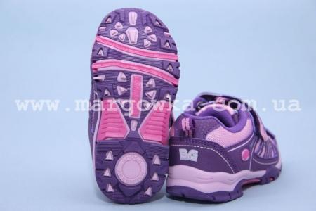 Кроссовки Little Deer (B&G) LD1115-1406 для девочки фиолетовые