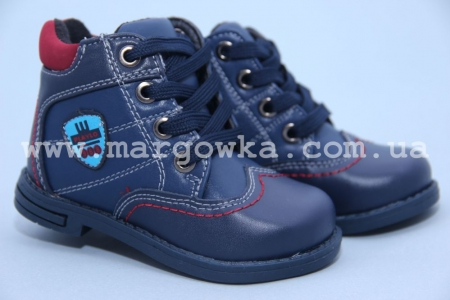 Ботинки Tom.M C-T08-61-A для мальчика синие