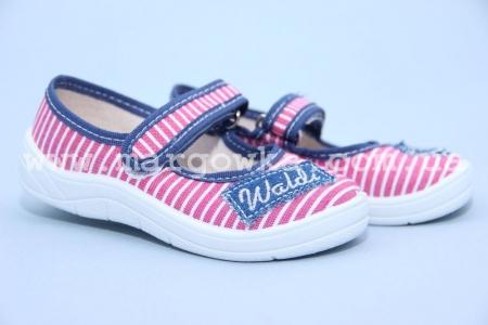 Тапочки Waldi 184-492 для девочки розовые