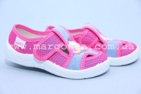 Тапочки Waldi 189/158-522 для девочки розовые