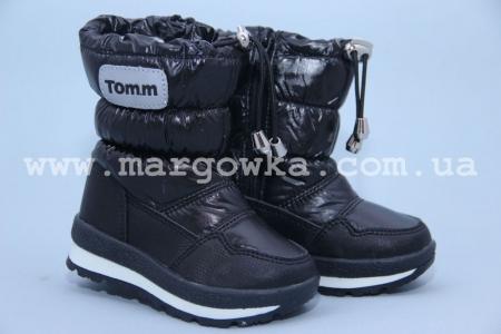 Дутики Tom.M C-T03-17-X чёрные