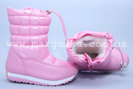 Дутики Tom.M C-T03-36-F для девочки розовые