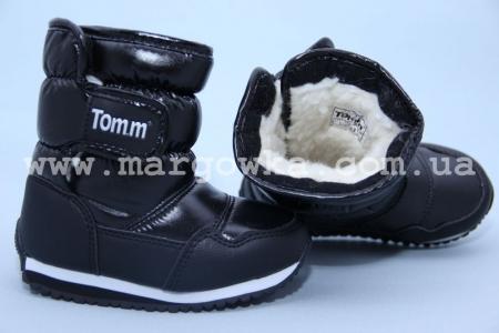 Дутики Tom.M C-T06-92-M чёрные