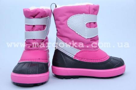 Сапоги Demar 1506a для девочки розовые