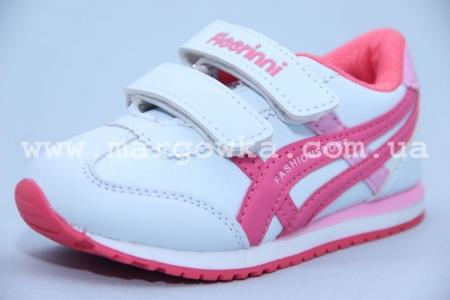 Кроссовки Fieerinni B208-6 для девочки белые, МАЛОМЕРЯТ!