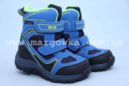 Термоботинки B&G TERMO R171-6021 для мальчика синие