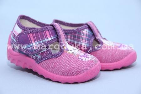 Тапочки Waldi 38/102-589 для девочки фиолетовые