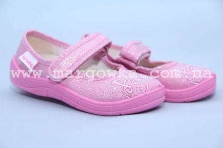 Тапочки Waldi 179-521 для девочки розовые