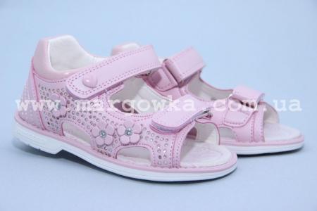Босоножки Tom.M C-T01-73-C для девочки розовые (G)