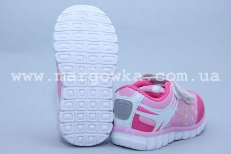 Кроссовки Fieerinni A077-1 для девочки розовые (A)