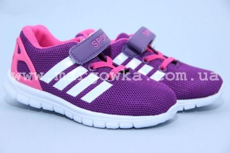 Кроссовки Солнце W512-2 для девочки фиолетовые (A)