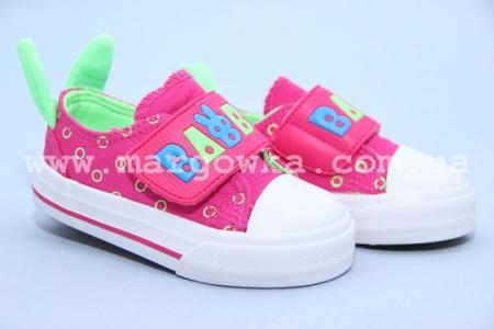 Кеды Tom.M C-T82-06-E для девочки розовые (A)