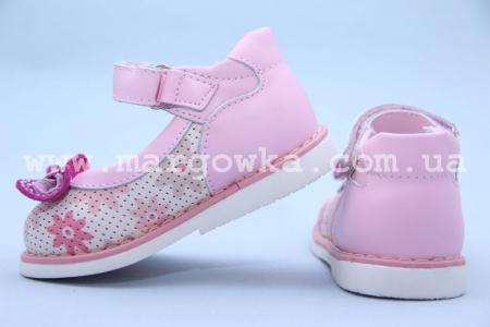 Туфли Calorie W8905-28F для девочки розовые (A)