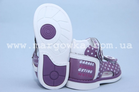 Босоножки Tom.M C-T77-92-E для девочки фиолетовые (G)