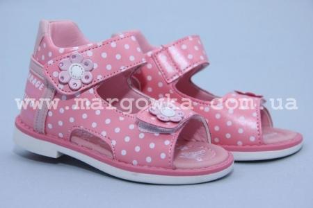 Босоножки Tom.M C-T77-92-F для девочки розовые (G)
