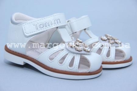Босоножки Tom.M C-T01-70-A для девочки белые (A)