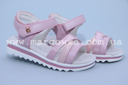 Босоножки Tom.M C-T06-65-C для девочки розовые (A)