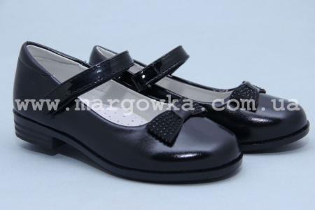 Туфли Tom.M 3729B для девочки чёрные (A)
