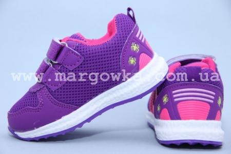 Кроссовки Boyang C-05-36-D для девочки фиолетовые. МАЛОМЕРЯТ! (A)