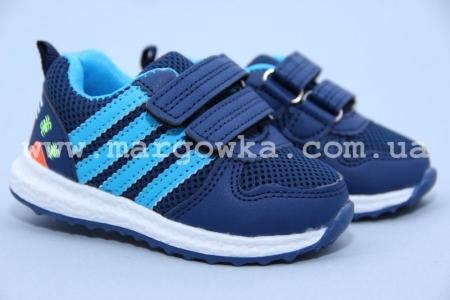 Кроссовки Boyang C-05-36-A для мальчика синие. МАЛОМЕРЯТ! (G)