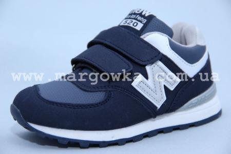 Кроссовки KLF 13170-2 для мальчика синие (A)