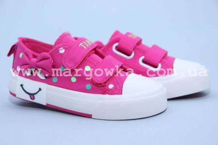 Кеды Tom.M C-T04-24-E для девочки розовые (G)