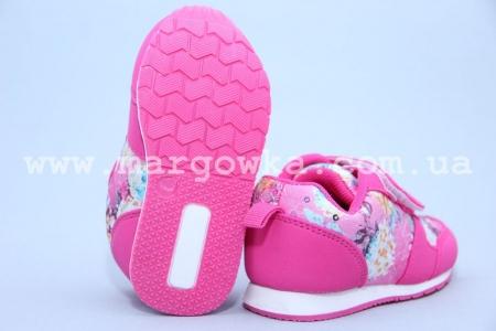 Кроссовки Солнце KJ65-1A-1 для девочки розовые (G)