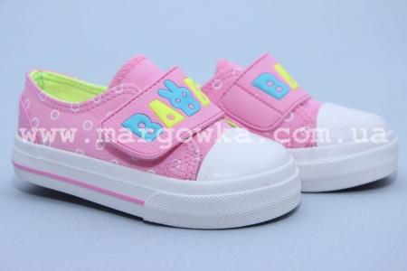 Кеды Tom.M C-T82-06-C для девочки розовые (A)