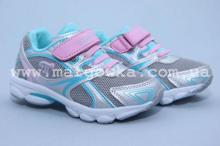 Кроссовки Tom.M C-T05-84-D для девочки серые (G)